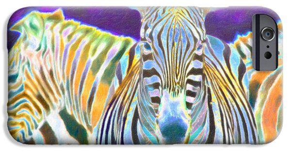 iPhone Cases - Zebra Crossing iPhone Case by Nadia Sanowar