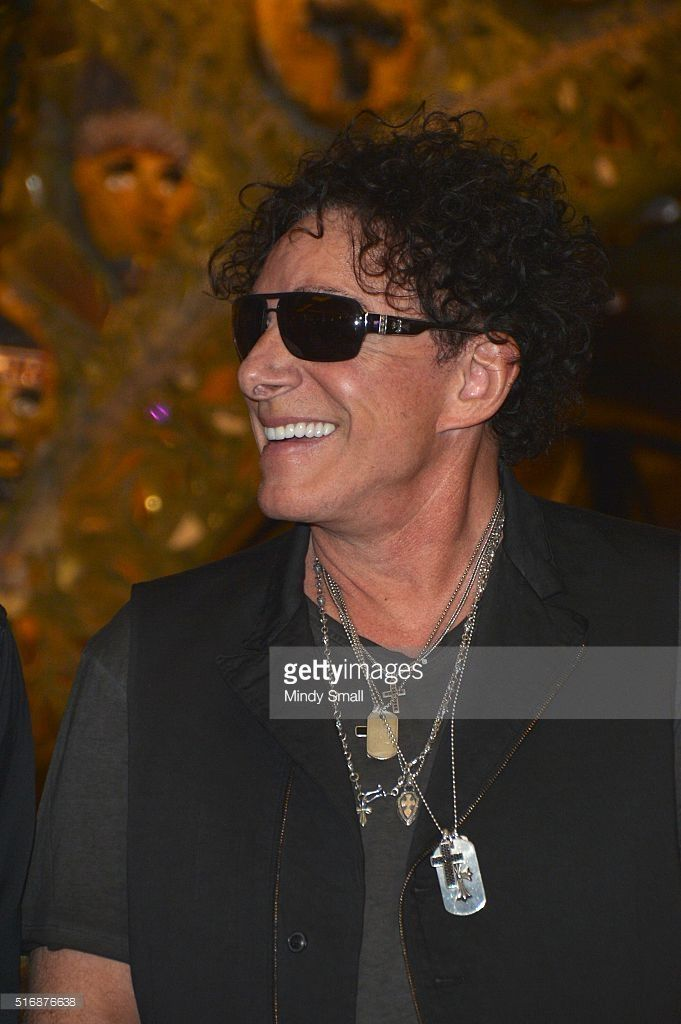Singer/guitarist Neal Schon appears during a news conference featuring the original Santana band lineup at the House of Blues Las Vegas inside the Mandalay Bay Resort and Casino on March 21, 2016 in Las Vegas, Nevada.