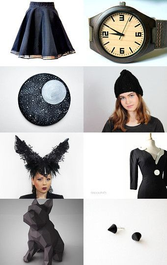 Black by Agnieszka Niechwiedowicz on Etsy--Pinned+with+TreasuryPin.com