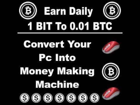 Earn BItcoin - Daily 1 BIT to 0 01 BTC ( Hindi/ Urdu) No Investment