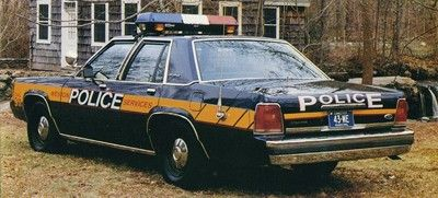 Weston PD, Connecticut - 1990 Ford CVPI