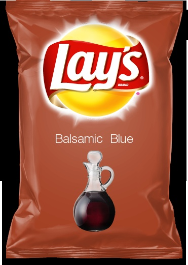 Balsamic  Blue, my Lay's chip flavor submission.