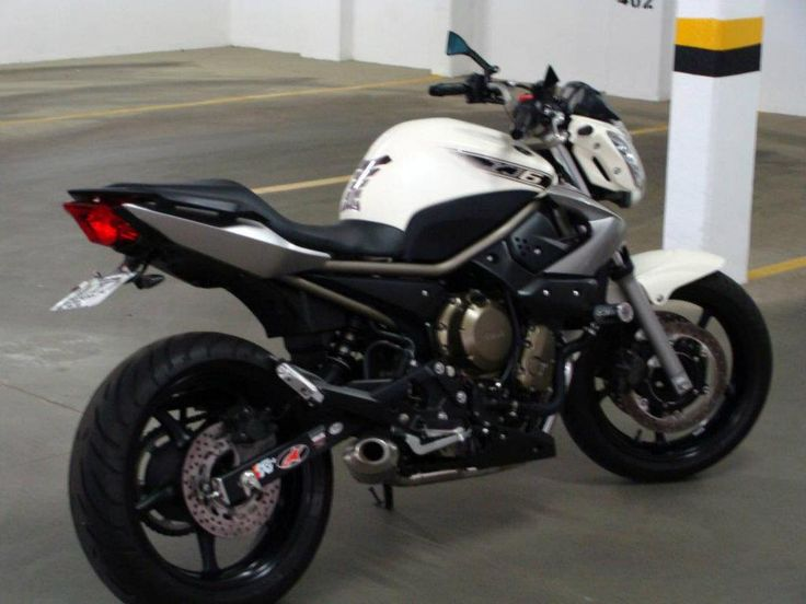Yamaha XJ6 2010 Naked Bike Motos Motorcycle FZ6 - Minha primeira motoca! (My first motorbike)