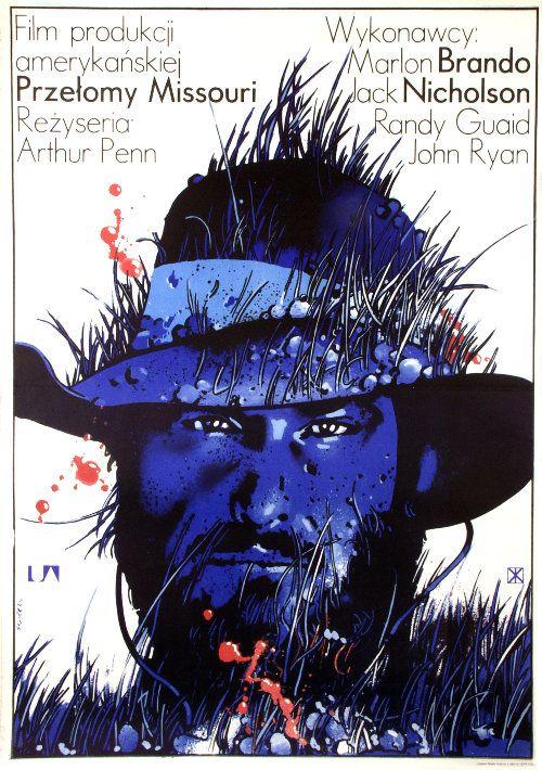 The Missouri Breaks, Polish Movie Poster