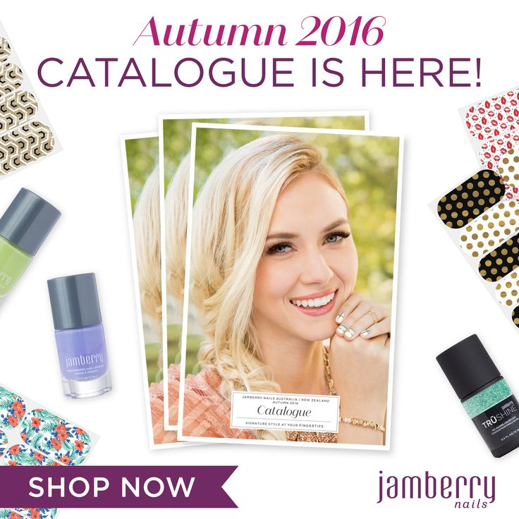Fabulous new looks for Autumn 2016 , new lacquers, new gels and brand new wraps available. Visit our website to browse the range today or contact us for your copy.