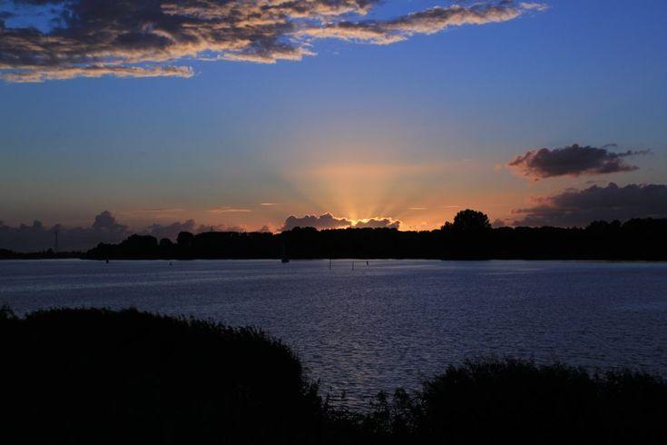 Sunset  by Gerrit Kuyvenhoven
