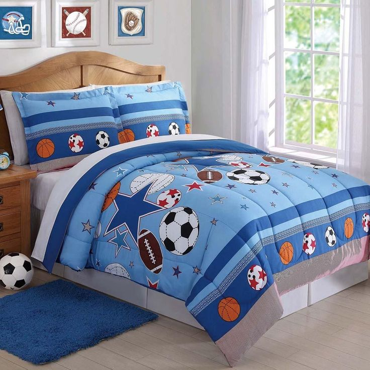 Sports and Stars Kids Comforter Set