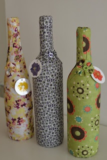 bottle wine cover by fabrics