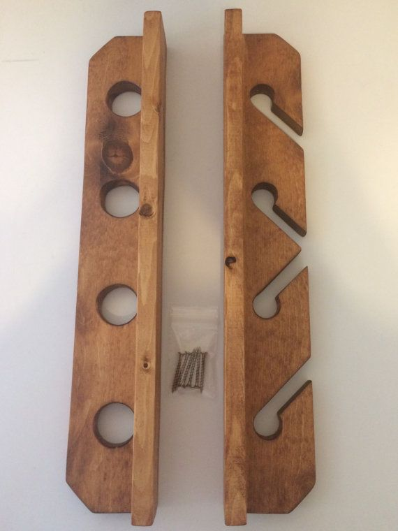 Fishing Pole Holder Rod Rack by RWSWORKSHOP on Etsy