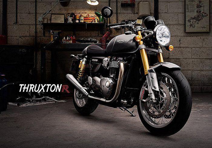 Triumph 1200 THRUXTON R 2016 - 19