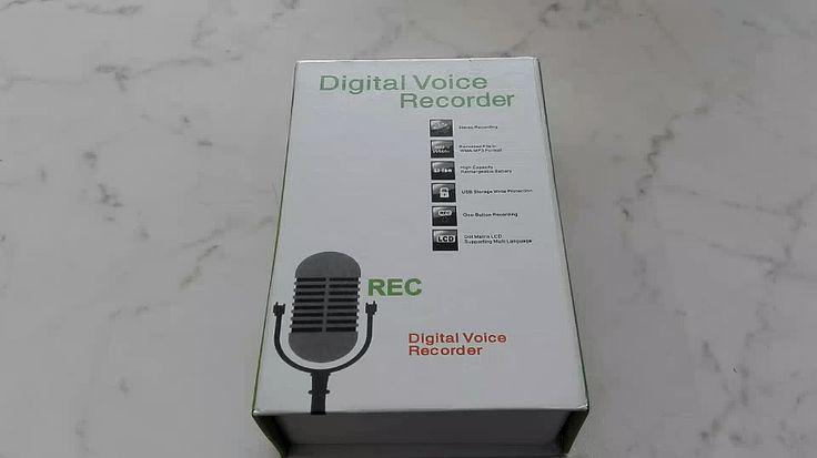 Registratore audio della Plater da 8GB