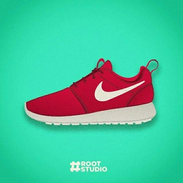 Ilustración zapas - sneakers - Nike