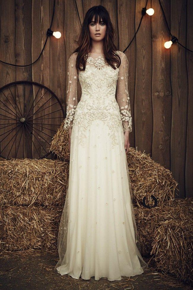 Vintage Wedding Dresses Inspiration For Elegant Bride Jenny Packham Apache