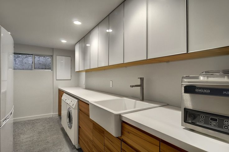 Modern laundry room @ 3214 37th Ave W Seattle, WA 98199
