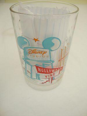 Walt Disney World 25th Anniversary Lumiere Disney Studios Glass Disneyana