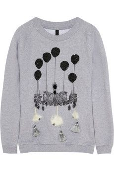 Mother of Pearl embellished sweatshirt