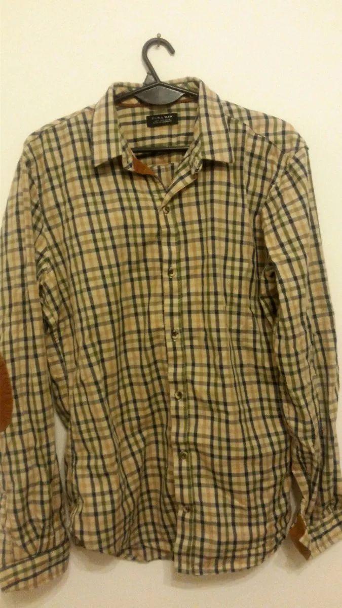 camisa zara hombre estilo vintage
