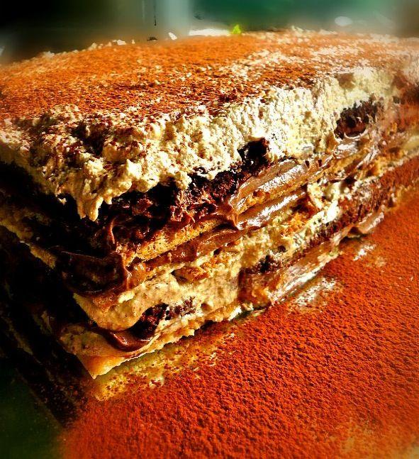 chocolate-mocha cake!