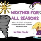 McGraw-Hill Wonders Leveled Reader Response Unit 6: Weather For All Seasons - These leveled reader response sheets are a fun and interactive way for your students to respond to their leveled readers during guided reading.