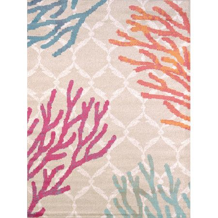 Found it at AllModern - Regional Concepts Tropical Reef Area Rug http://www.allmodern.com/deals-and-design-ideas/p/Coastal-Cool-Rugs-Regional-Concepts-Tropical-Reef-Area-Rug~UA3362~E22234.html?refid=SBP.rBAZEVVfDiYzkS_MGwJPAgKJr7023kc4pz_neaKPUYc