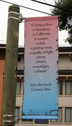 A literary analysis of cannery row by john steinbeck