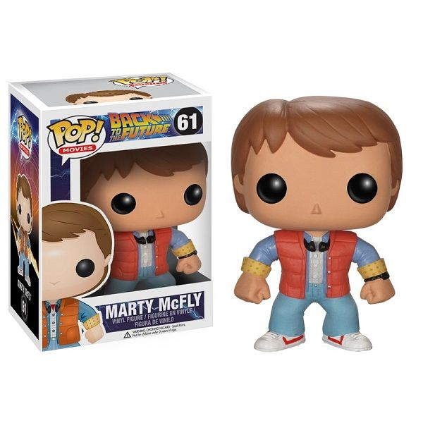 New Pop! Vinyl Figures Feature Back To The Future