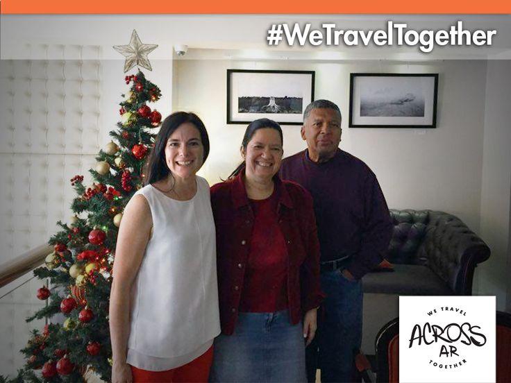 Le damos la bienvenida a Ermelinda Burgos y Angel Rosa que viajaron desde Puerto Ricao para conocer Buenos Aires, Iguazú, Bariloche, Calafate y Ushuaia en 15 días. Les deseamos un excelente viaje y unas felices fiestas!! Gracias por elegir Across Argentina!