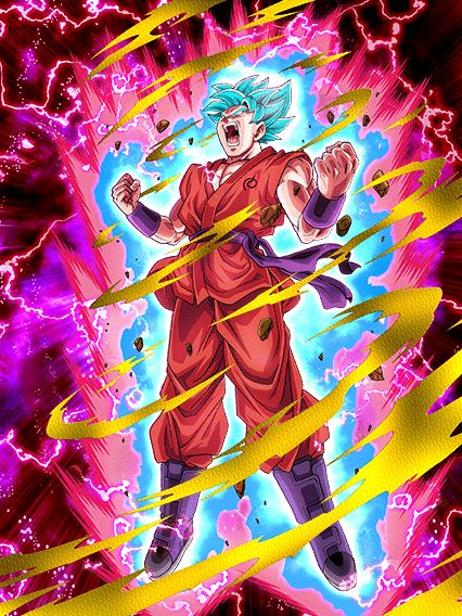 Dokkan Battle: SSB Kaioken Goku! by sonichedgehog2 on DeviantArt