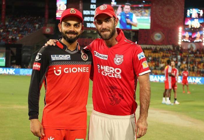 The two captains at the toss today Virat Kohli and Glenn Maxwell #IPL2017 #RCBvKXIP For more cricket updates visit: http://ift.tt/2gY9BIZ - http://ift.tt/1ZZ3e4d