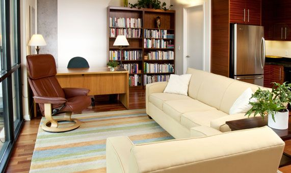 Office of psychoanalyst Dr. Virginia Terhaar-Portland, Oregon