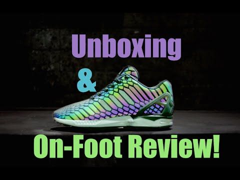 innovative design d32da 1c4d2 ... Adidas ZX Flux XENO Unboxing  On-Foot Review!