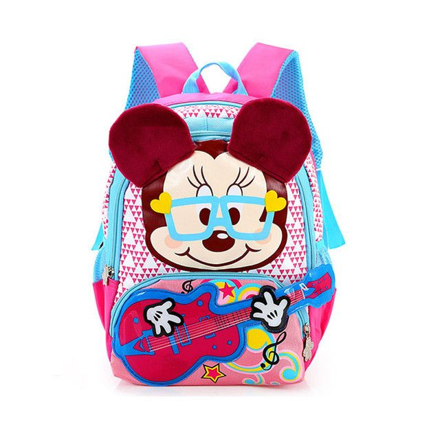 RORETE Kids Bag Cartoon Mickey Children Backpacks Kindergarten Backpack Kid School Bags For Boys And Girls