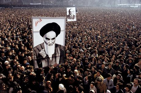 IRAN PICTURES: 1978-79 Revolution Echoes Protests Today