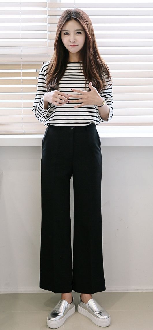 Ulzzang Girls Fashion Pants Images