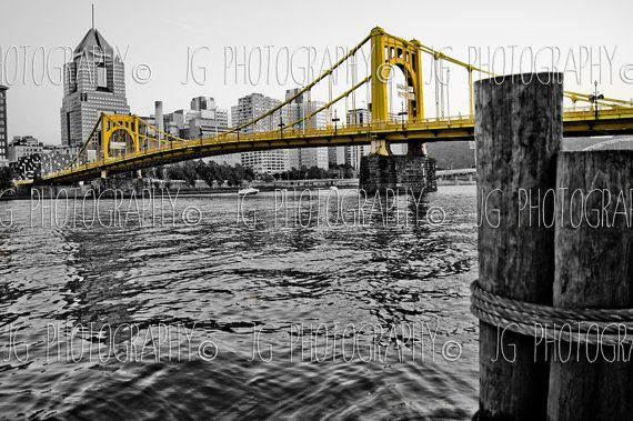 Hey, I found this really awesome Etsy listing at https://www.etsy.com/listing/161033027/pittsburgh-roberto-clemente-bridge-1