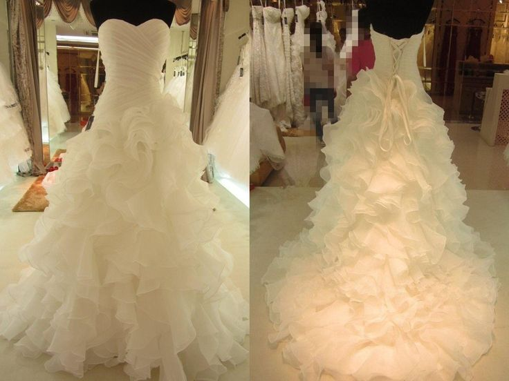 White Wedding Dresses,2018 Wedding Gown,Organza Wedding Gowns,Ball Gown Bridal Dress,Fitted Wedding Dress,Corset Brides Dress,Vintage Wedding Gowns,Sweetheart Wedding Dress PD20184984