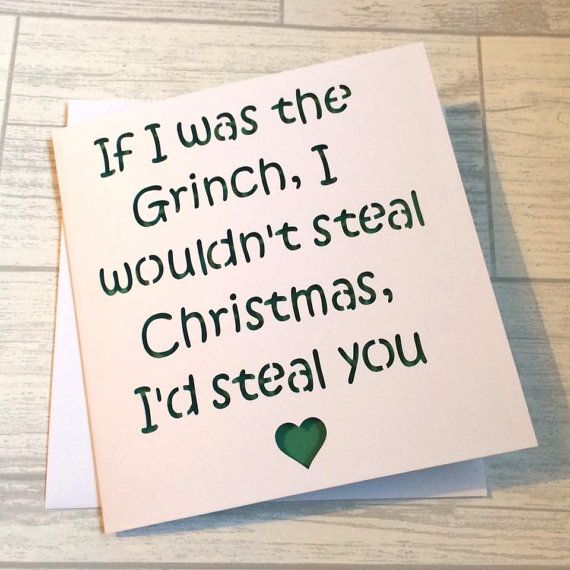 Chrismas card for boyfriend, boyfriend christmas card, girlfriend christmas card, card for him, card for girlfriend, boyfriend birthday