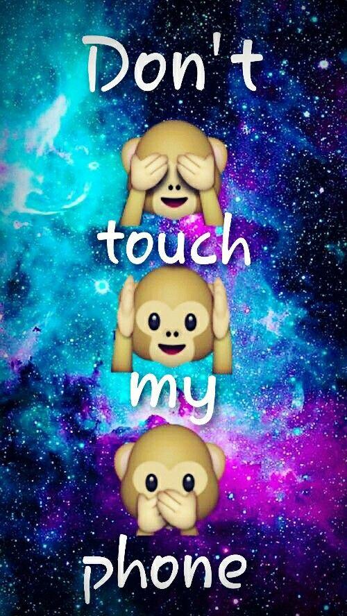 Dont touch my phone emojis | Emojis | Emoji wallpaper ...
