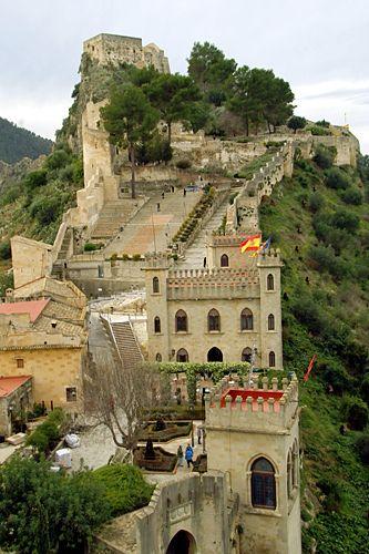 Castillo en Xativa ~ Spain