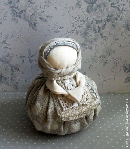 """Кукла - оберег """"Благополучница"""" - серый,кукла в подарок,русский стиль"""