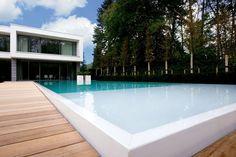 hellende tuin met zwembad - Google zoeken