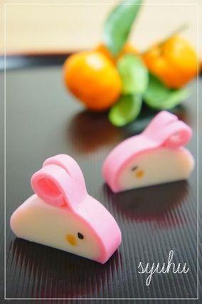 2011年干支・うさぎ蒲鉾 御節料理の飾りに♪|レシピブログ