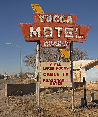 YUCCA MOTEL ~ Vaughn, New Mexico ~ Copyright ©2013 Bob Travaglione ~ ALL RIGHTS RESERVED ~ www.FoToEdge.com