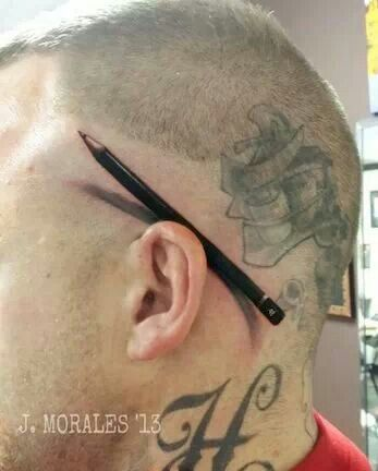 3d Pencil  Tattoos Pinterest And