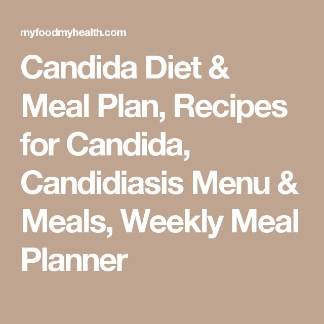 candida diet meal plan pdf