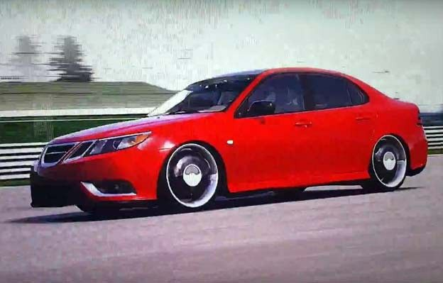 Saab 9-3 Turbo X in Forza Motorsport 4 http://www.saabplanet.com/saab-9-3-turbo-x-in-forza-motorsport-4/