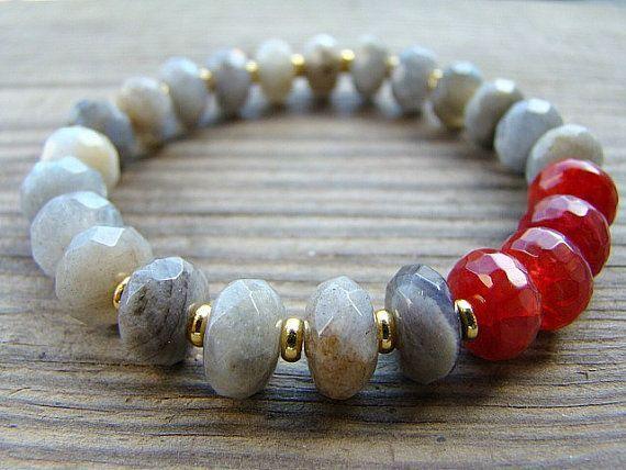 Las pulseras con cuentas Tendance - pulsera del estiramiento, la piedra preciosa…