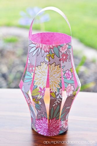 78 best vbs western decorating ideas images on pinterest for Recycled paper lantern