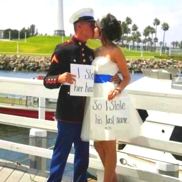 Marine Wedding. So Cute. This Would Also Be A Super Cute Save The Date