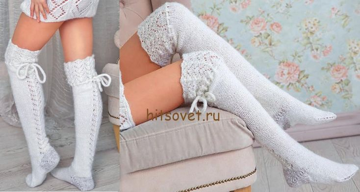 Гольфы выше колена спицами http://hitsovet.ru/golfy-vyshe-kolena-spicami/